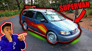 Transforming Mini Van into SUPERCAR!