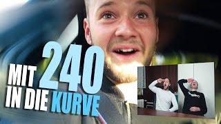 Mit 240 KMH in die Kurve! | Rennfahrerstyle | inscope21