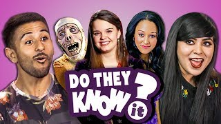 DO ADULTS KNOW DISNEY CHANNEL HALLOWEEN MOVIES? (React: Do They Know It?)