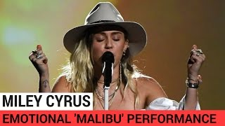 Miley Cyrus Breaks Down Crying During Emotional