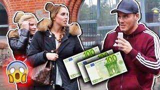 FRAUEN für 300€ eine GLATZE SCHNEIDEN !!! (Experiment)