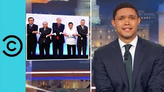 Trump's Bromance With The President Of The Philippines   The Daily Show