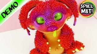 XENO Kobold deutsch - Schleimiges Monster WEINT & hat HUNGER! Hatchimal Alternative? Demo