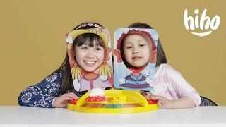 Kids Play PIE FACE SHOWDOWN!   Kids Play   HiHo Kids