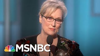 Meryl Streep Weighs In On Harvey Weinstein