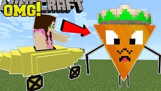Minecraft: UNBELIEVABLE BOSSES!!! (DORITO BOSS, BANANA CAR, & MORE!) Mod Showcase