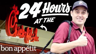 Working 24 Hours Straight at Chick-fil-A | Bon Appetit