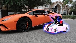SURPRISING OUR DAUGHTER WITH HER DREAM CAR!!!