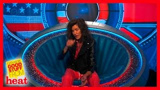 Janice Dickinson has a seizure in the Celebrity Big Brother House
