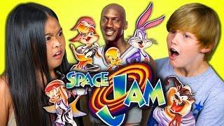 KIDS REACT TO SPACE JAM (20th Anniversary)