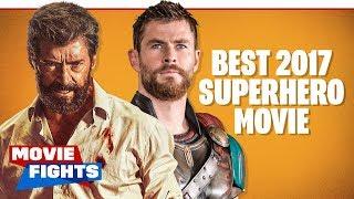 Best Superhero Movie of 2017?? SNEAK PEEK MOVIE FIGHTS!
