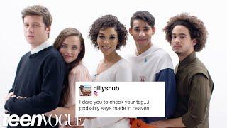 Love, Simon Cast Competes in a Compliment Battle   Teen Vogue