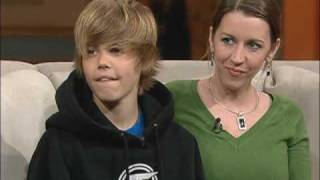 Justin Bieber - First time on Television - 100 Huntley Street