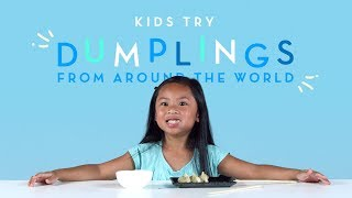 Kids Try Dumplings from Around the World