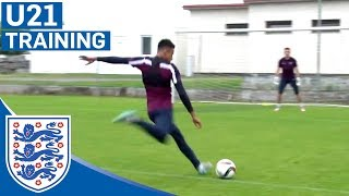 Cracking goals from Kane, Ings & England U21s   Inside Training