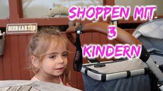 Shoppen mit drei Kindern - Familienvlog - Vlog#770 Rosislife
