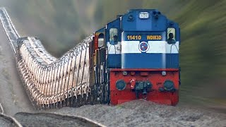 The Raising Trains ! Incredible GRADIENTS : Indian Railways