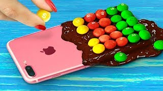 7 DIY Edible Phone Cases / Edible Pranks!