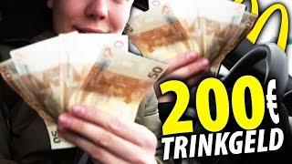 McDonalds PRANK | 200 EURO TRINKGELD GEBEN