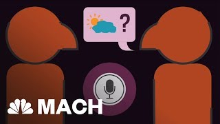 This Is The Algorithm That Lets Siri Understand Your Questions | Mach | NBC News