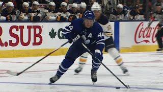 Rielly takes advantage of Sabres casual defence