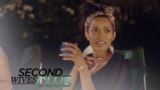Tania Brings a Security Guard to Camping Night | Second Wives Club | E!