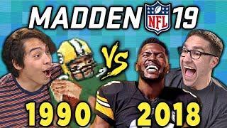 MADDEN NFL - Old VS. New (Madden