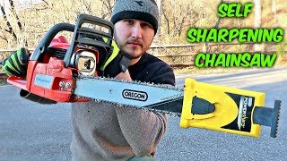 Self Sharpening Chainsaw