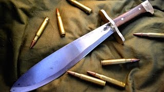 Knife Making - BATTLEFIELD 1 HELLFIGHTER BOLO KNIFE