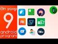 Ən Yaxşı 9 Android Proqrammp3