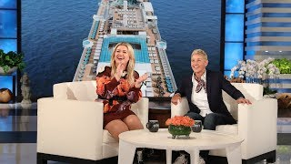 Ellen's Audience Cruises to a Vacation, Thanks to Kelly Clarkson!