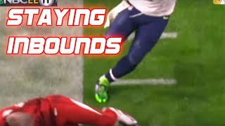 """NFL """"Staying Inbounds"""" Moments"""