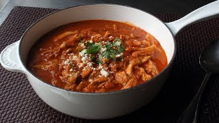 Chicken Tinga Recipe- Spicy Mexican-Style Stewed Chicken in Chipotle Sauce