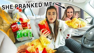 Letting The Person In Front Of Me Decide What I Eat (PRANK)