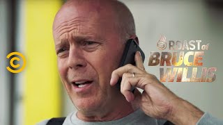 Shilling on the Street - Roast of Bruce Willis - Uncensored