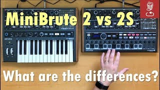 MiniBrute 2 vs 2S: What are the differences?