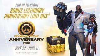 Overwatch Seasonal Event   Overwatch Anniversary 2018