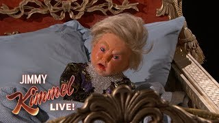 Jimmy Kimmel Travels Back in Time to Visit Baby Donald Trump
