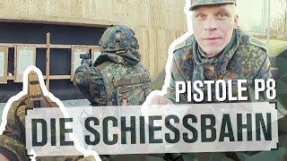 Die Schießbahn |Pistole P8 | TAG 46