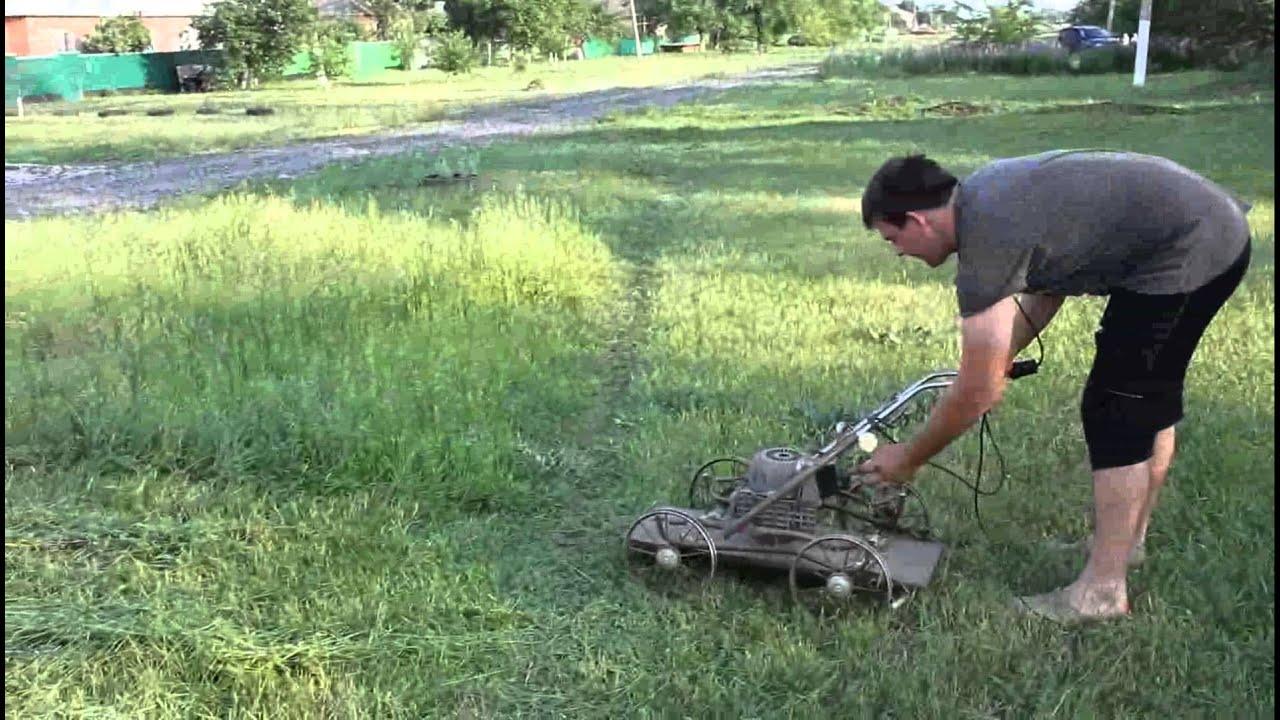 Как сделать газонокосилка в домашних условиях