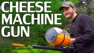 How To Make A Cheese Ball Machine Gun - NightHawkInLight