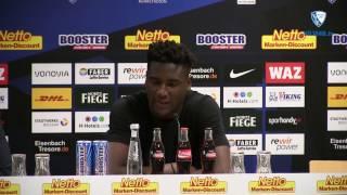 Die Pressekonferenz vor der Partie VfL Bochum 1848 - 1. FC Kaiserslautern