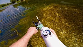 BOWFISHING AIR CANNON!!! (WARNING do not try this at home)