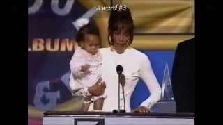 Whitney Houston Wins 8 Awards at