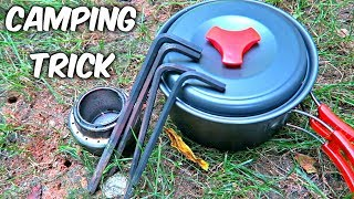 This Camping Stove Trick Will Save Your Money!