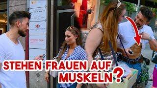 Stehen Frauen auf Muskeln? 🤔   sametshark🦈  #Hannover