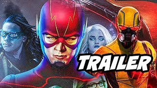 The Flash Season 4 Crisis On Earth X Catch Up Trailer - Arrow, Supergirl, Legends Of Tomorrow