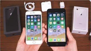 Apple iPhone 8 & 8 Plus Unboxing!