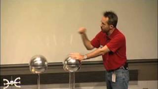 Should a Person Touch 200,000 Volts? A Van de Graaff generator experiment!