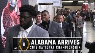Alabama arrives at Levi